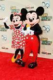 Minnie Mouse and Mickey Mouse World Premiere of...