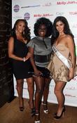 Vivica A Fox, Melky Jean and Miss USA Rima Fakih