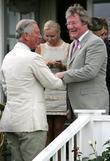 Prince Charles and Jim Davidson