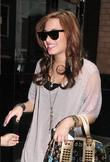 Demi Lovato arrives at her Midtown Manhattan hotel...