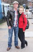 Steven Arnold and Nina Ulanova at the ITV...