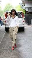 Kelly Rowland outside the ITV studios London, England