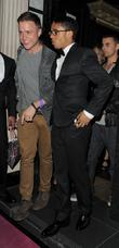 Olly Murs, Aston Merrygold and JLS