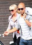Emma Bunton and Jade Jones leave the ITV...