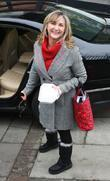 Lesley Garrett Celebrities outside the ITV television studios....