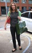 Emma Crosby leaves the ITV studios London, England