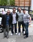 Ronan Keating, Duffy, Keith Duffy, Mikey Graham and Shane Lynch