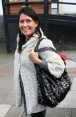 Zoe Tyler Celebrities outside the ITV television studios....