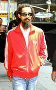 Damian Marley arrives to the 'Late Show with...