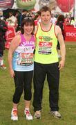 Lorraine Kelly and Ben Shepherd