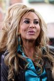 Adrienne Maloof filming an interview for the entertainment...