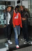Lemar, Craig David Celebrities outside the Radio One...