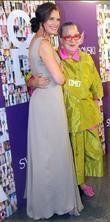 Brooke Shields and Kim Hastreiter