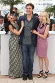 Doug Liman, Liraz Charhi and Naomi Watts