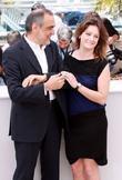 Giovanna Mezzogiorno and Alberto Barbera