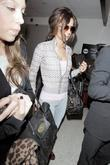 Cheryl Cole Arriving At Lax Airport On A Virgin Atlantic Flight From London Heathrow.