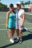 Martina Navratilova and Chris Evert