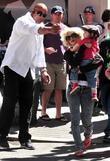 Christina Aguilera, Her Son Max Bratman and Family