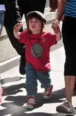 Christina Aguilera, her son Max Bratman and family