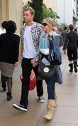 Christina Applegate, Boyfriend Go Shopping Together At American Girl Place Boutique and Gap In Hollywood