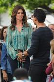 Cindy Crawford and Mario Lopez
