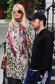 Claudia Schiffer and Matthew Vaughn Take Their Son To School