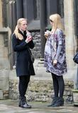 Pregnant German Model and Claudia Schiffer