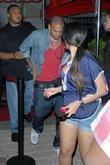 Chris Brown departs club MIA at Biscayne Miami,...