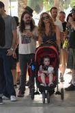 Shooter Jennings, Drea de Matteo and daughter Alabama...