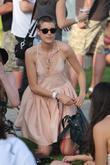 Agyness Deyn at the 2010 Coachella Valley Music...