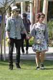 Luke Worrall and Kelly Osbourne Kelly Osbourne, sporting...