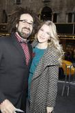 Adam Duritz poses with Lily Rabe