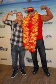 Nick Hogan, David Hasselhoff and Hulk Hogan