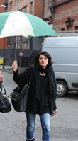 Alison King 'Coronation Street' stars arrive at the...