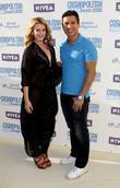 Lauren Bosworth and Mario Lopez