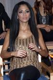 Nicole Scherzinger and winner of Dancing With The Stars