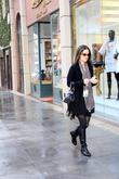 Danica McKellar actress and author doing errands in...