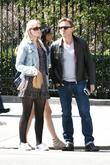 Daniel Craig, girlfriend Satsuki Mitchell enjoying the sunny spring weather in Manhattan's West Village with a friend