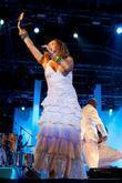 Daniela Mercury performing live at Festival do Marisco in Olhao