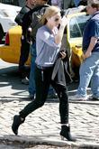 Abbie Cornish on the film set for her...