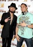 Dave Navarro and DJ Skribble