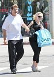 David Hasselhoff and daughter Hayley Hasselhoff shopping at Kitson