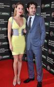 Colin Farrell and girlfriend Alicja Bachleda