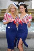 Gemma Merna, Claire Cooper, Trafalgar Square