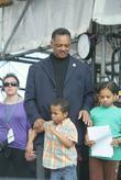 Jesse Jackson with his grandchildren