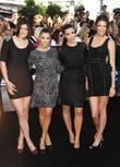 Kylie Jenner, Kim Kardashian and Kourtney Kardashian