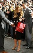 Jennifer Lopez, David Letterman