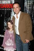 Gabrielle Popa and her father Los Angeles premiere...