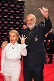 Micheline Connery and Sean Connery
