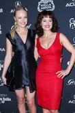 Malin Akerman and Carla Gugino